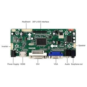 Image 2 - Hdmi + Vga + Dvi + אודיו קלט Lcd בקר לוח עבור Hsd190Men4 M170En06 17 אינץ 19 אינץ 1280X1024 4 Ccfl 30 סיכות Lcd פנל