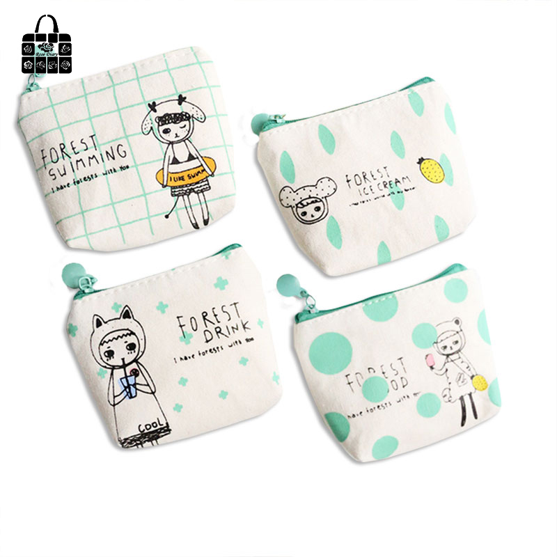 Rose Diary New cute canvas coin purses zipper girl boy child zero wallet women purse lady coin bag key packet 1pcs vintage butterfly pattern leather coin purses zipper zero wallet child girl boy women purse coin bag key packet drop ship