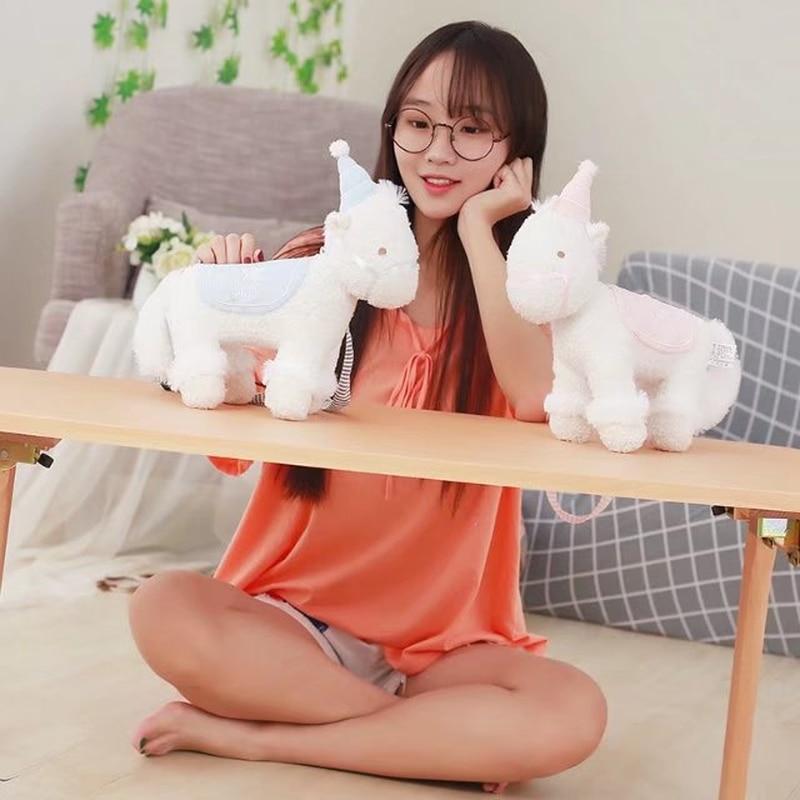 MrY Kawaii Japón Dreamy felpa mochila suave Pony bolsos de hombro rellenos animales muñecas niños mochila para niñas niños