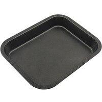 28x22cm Electric Rectangle Baking Pan Non Stick Heavy Duty Steel Flat Bottom Bread Baking Tray Premium