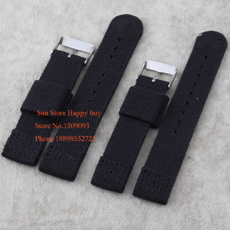 Wholesale !18/20/22mm Durable Nylon Canvas Watch Bands Strap Men Sport  Watch Bracelet Outside Watchbands Thickness In Watchbands From Watches On  ...