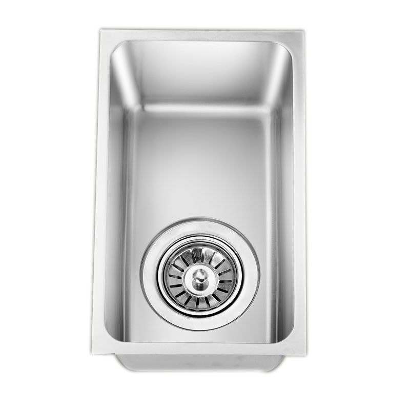 Stainless Steel 304 Mini Small Single Slot The Saloon Car The Sink SINGLE BOWL Drawing Thickening 32 * 19CM