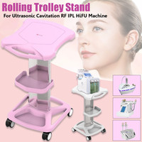 Beauty Equipment Storage Rack Trolley Stand Cart Slim Rolling With Wheels Kitchen Storage Decorative Wall Shelf Holder For Salon