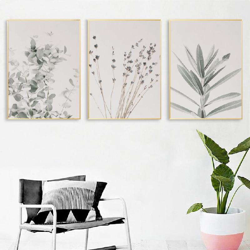 Eucalyptus Wall Art Prints Living Room Decor