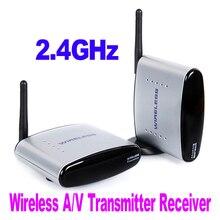 Nouveau PAT-330 150 m 2.4GH150M Sans Fil AV Émetteur et Récepteur TV diffusion Audio Vidéo expéditeur TV Signal récepteur 3 RCA pour HD