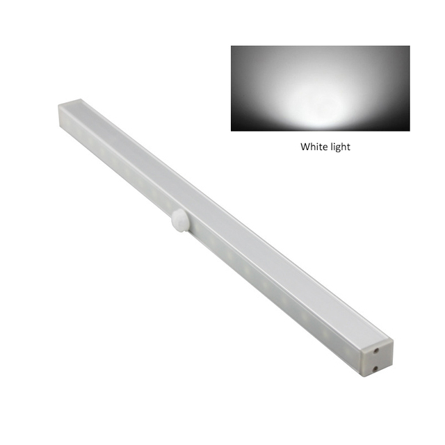 Motion Sensor Closet Light 20 Led Wireless Activated Night Under Cabinet Lighting Lamp Battery
