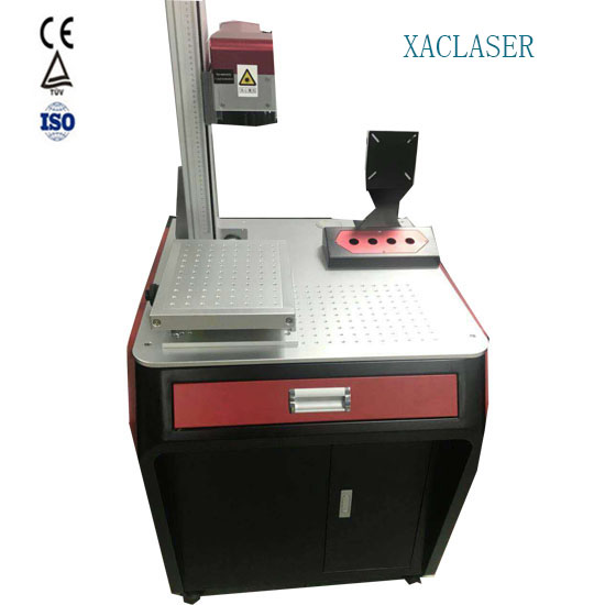 Coke bottle key ring CO2 laser marking machine high stability laser coding machine with low price