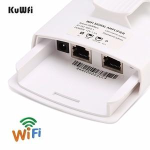 Image 5 - 300Mbps 2.4GHz yüksek güç WiFi tekrarlayıcı WIFI genişletici geniş alan kapalı Wi Fi amplifikatör ile 360 derece yönlü antenler