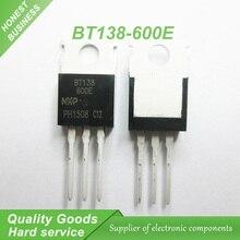 5 шт. бесплатная доставка BT138-600E BT138-600 BT138 Триаки RAIL TRIAC 600 В 12A TO-220 новый оригинальный
