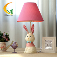 Free Shipping HGHomeart Hand Resin Lamp Creative Fashion Cute Cartoon Children S Baby Room Bedroom Bedside