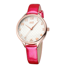 2017 Girls's Trend Watch Finest Promoting Quartz Leather-based Wristwatch Analog Crystal Rectangle Dial Watches Girls Informal h492