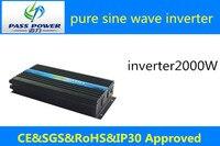 2000w 240V Inverter, 12V Inverter DC AC LED Display All Protection