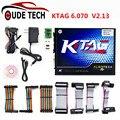 Melhor Qualidade A + Ktag 2.13 Hardware V6.070 Sem Tokens Limitada Funciona Multi-carros/caminhões K Tag 2.13 Chip Ecu Interface K-Mestre tag