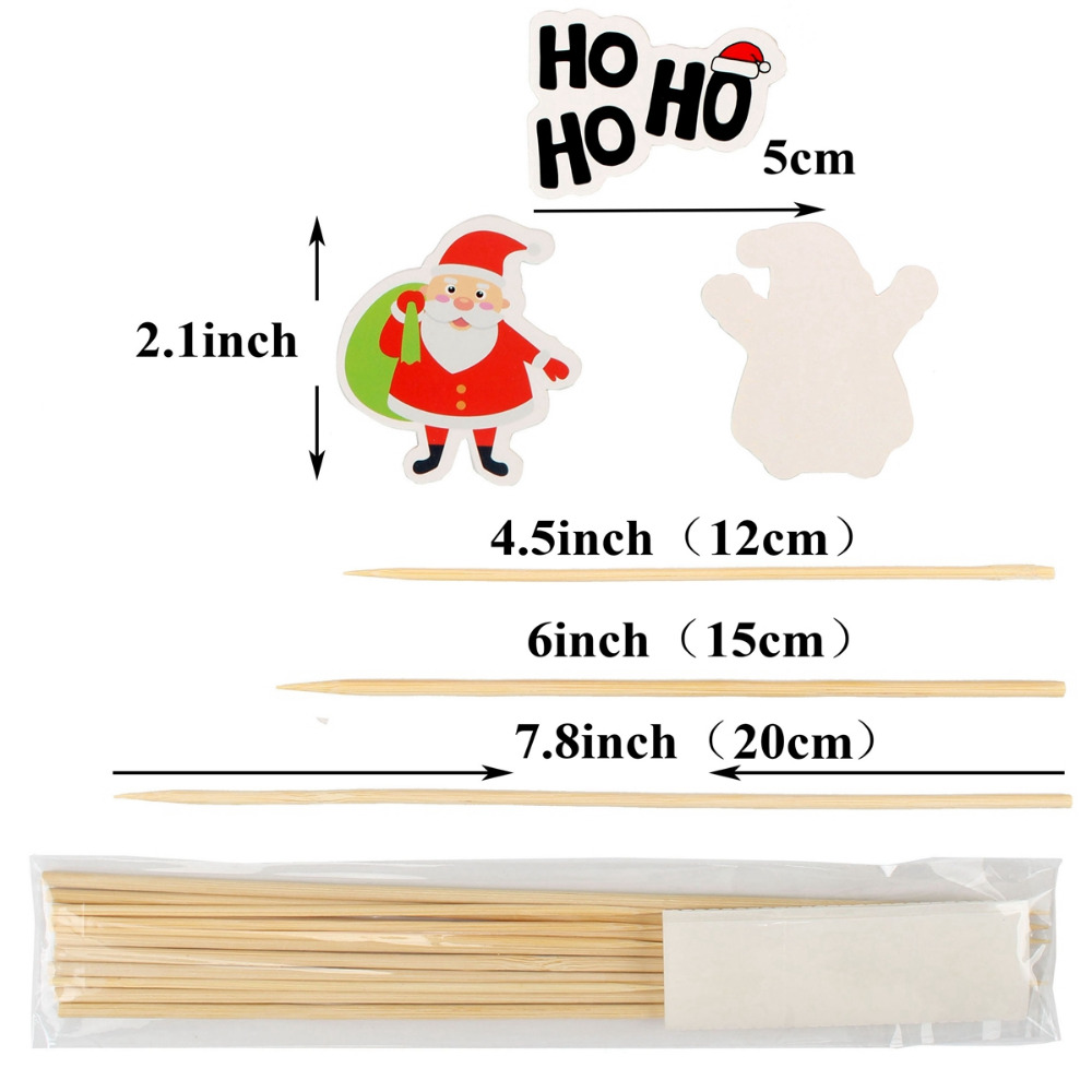 Lincaier Paper 2018 Merry Christmas Cake Topper Party Decorations ...