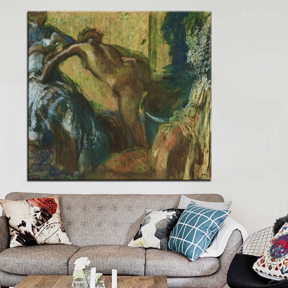 Artisan Home Decor handmade wooden candlestick multiple eco friendly beech wood artisan home decor Dp Artisan After The Bath Wall Painting Print On Canvas For Home Decor Oil Painting Arts No Framed Wall Pictures