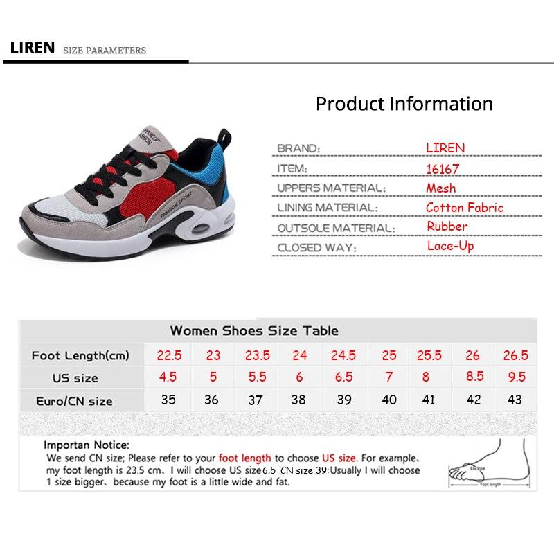 Respirant Air Mesh Femmes Chaussures de Sport 2018 Printemps Femmes Sneakers Chaussures De Mode Lacent Plats En Plein Air Chaussures Dames tenis feminino - 6