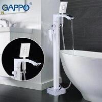 GAPPO отдельно стоящая Ванна кран смесители кран для ванной смеситель для душа смеситель для ванной в форме водопада Ванная комната ванна душ