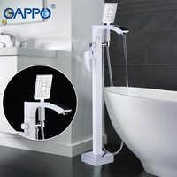 GAPPO free standing bathtub faucet mixer taps faucet bath mixer shower waterfall bath faucet bathroom bathtub shower rainfall