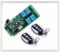 AC85v ~ 250 V 110 V 220 V 230 V 4CH Không Dây Điều Khiển Từ Xa Chuyển Ngõ Ra Relay Đài RF Truyền Receiver