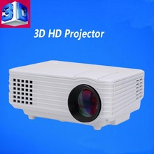 Hot Sell 800*480 full hd LED Projector Support 1080P for Home Entertainment