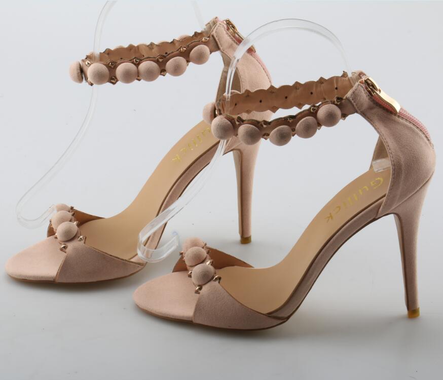 Talons La Pictures À Hauts Sandales Zip Femme Dames Mode Rose Ouvert Talon Doux De Pointu Troupeau Chaussures Bureau D'été Bout Robe As Couverture x4qYWI