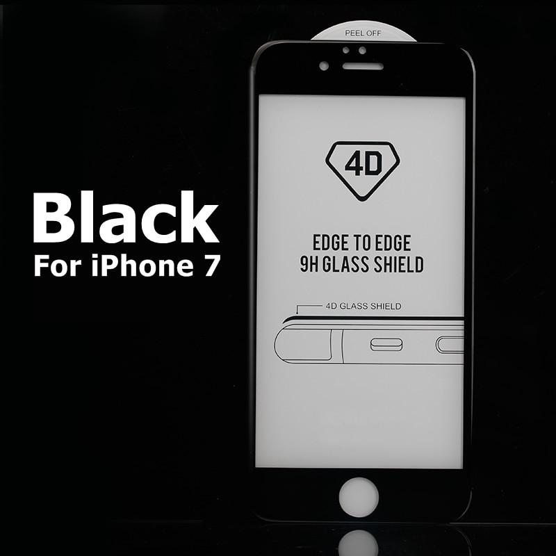 Real 4D Curved Full Cover Glass för iPhone 6 7 härdat glas - Reservdelar och tillbehör för mobiltelefoner - Foto 5