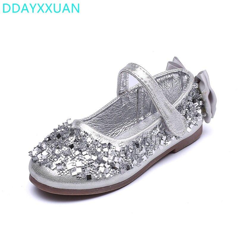 Madchen Hochzeit Schuhe 2018 Neue Mode Funkelnden Kinder Madchen