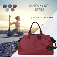 Waterproof Nylon Training Gym Bags sport men women Multifunction Handbag Outdoor Travel Yoga Fitness Shoulder Bag Duffle Bag цена