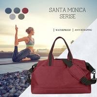 Waterproof Nylon Training Gym Bags sport men women Multifunction Handbag Outdoor Travel Yoga Fitness Shoulder Bag Duffle Bag