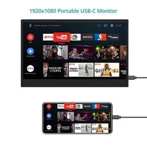 Image 4 - Elecrow LCD Display 13.3 inch Portable USB C Monitor Non touchscreen 1920*1080P HDMI Type C Design Screen for Raspberry Pi
