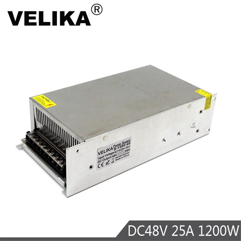 Single Output Switching power supply 1200W 48V 25A Transformer 110V 220V AC TO DC48V SMPS for