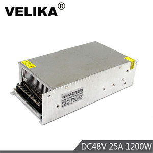 Image 1 - Fuente de alimentación conmutada de salida única, transformador de 1200W, 48V, 25a, 110V, CA a DC48V, SMPS para Motor de luz LED, paso a paso, CNC CCTV