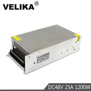 Image 1 - Single Output Switching power supply 1200W 48V 25A Transformer 110V 220V AC TO DC48V SMPS for LED Light CNC Stepper Motor CCTV
