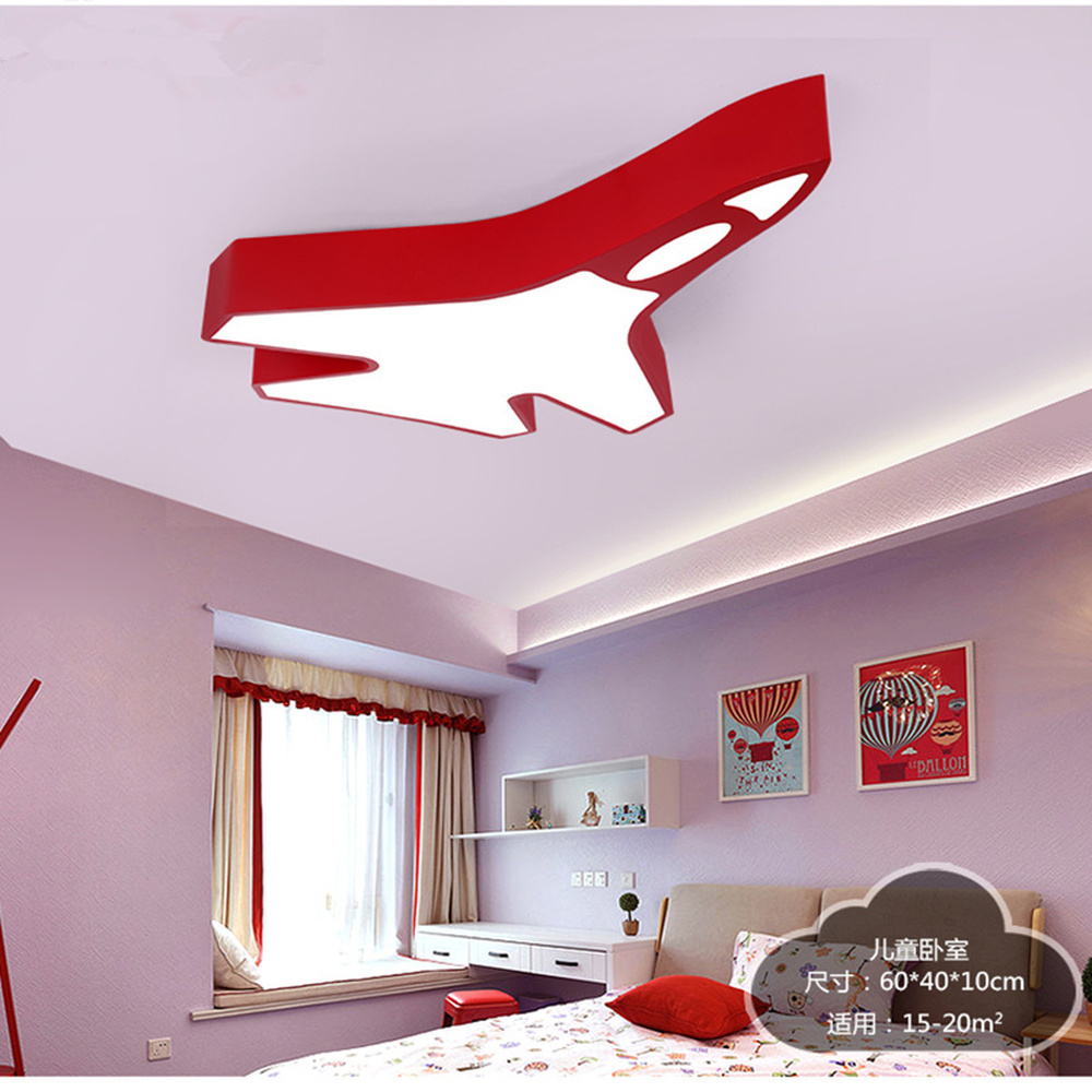 Ракета для комнаты мальчика свет творческий спальня потолочный светильник творческая личность детский сад игровая площадка подсветка для
