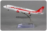 Brand New 1/250 Scale Airplane Model Toys 16cm AirAsia A True Malaysian Airbus A320 Diecast Metal Plane Model Toy For Gift/Kids