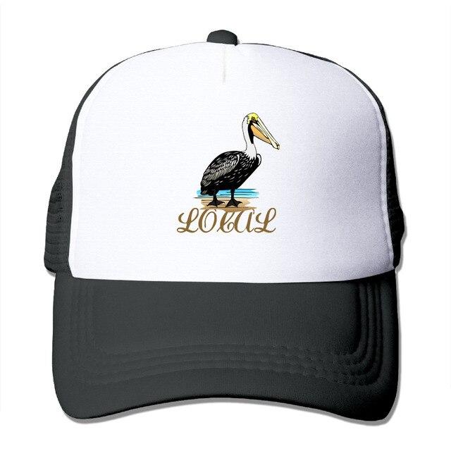 d238bd5a042 DUTRODU For Men Women Baseball-caps Meshback Local Pelican Cap Hats hip hop  hat vary colors adjustable