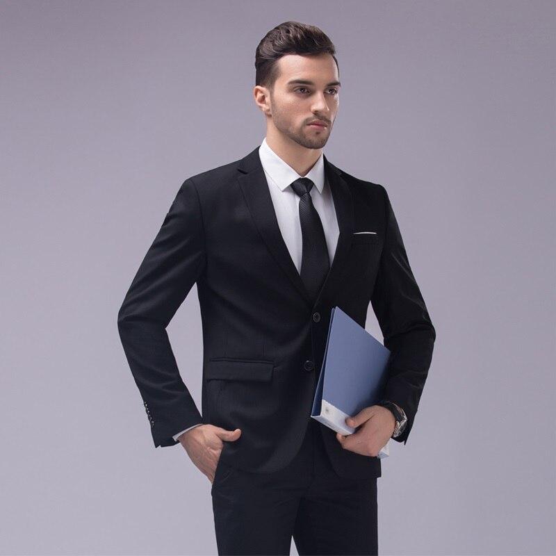Online Buy Wholesale custom made dark blue men suit tailor made