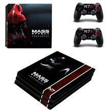 Mass Effect Andromeda PS4 Pro Skin Sticker Vinyl Decal