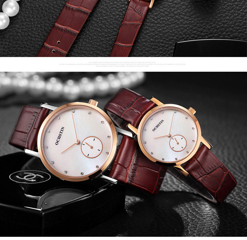 2017 OCHSTIN Mulheres Marca De Luxo Relógios