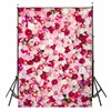 3x5ft Thin Vinyl Photography Background Rose Flower Theme For Studio Photo Props Photographic Backdrops Cloth 90