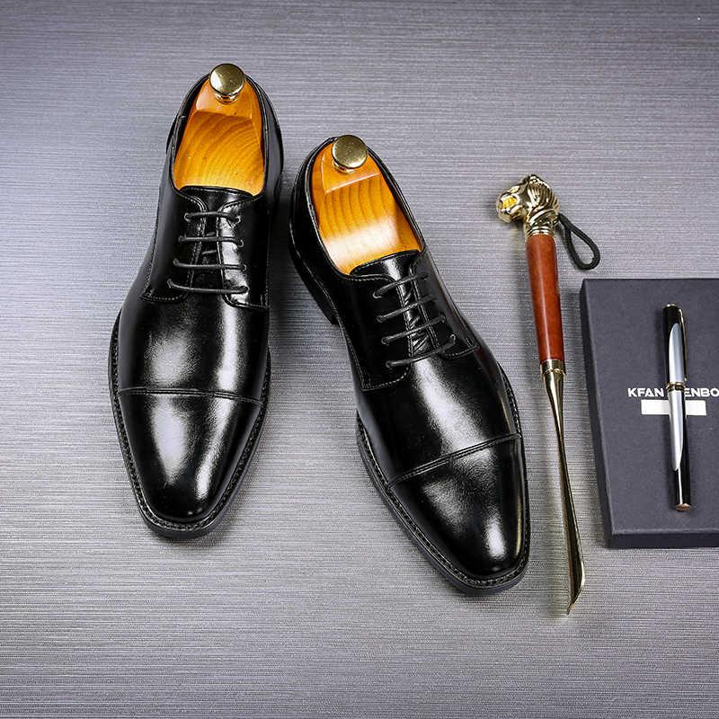 Mens Casual Schoenen 'Mocassin heren Oxfords Schoenen Mannen Winter Classic Party Wedding Mannen Casual Schoenen Flats Formele Schoen Bedrijf nieuwe