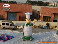 Inflatable Chef Cartoon Cook Character for Restaurant Advertising