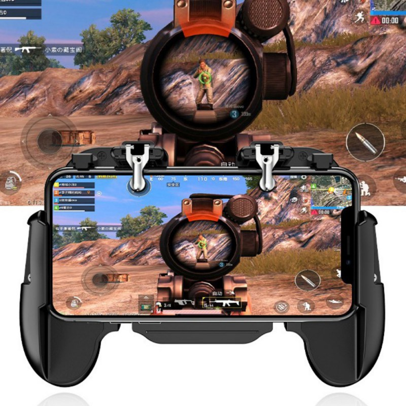 New Gamepad Joystick Cooling Fan Mobile Phone PUBG Game Gamepad For iPhone Samsung HuaWei Xiaomi OnePlus Smartphones