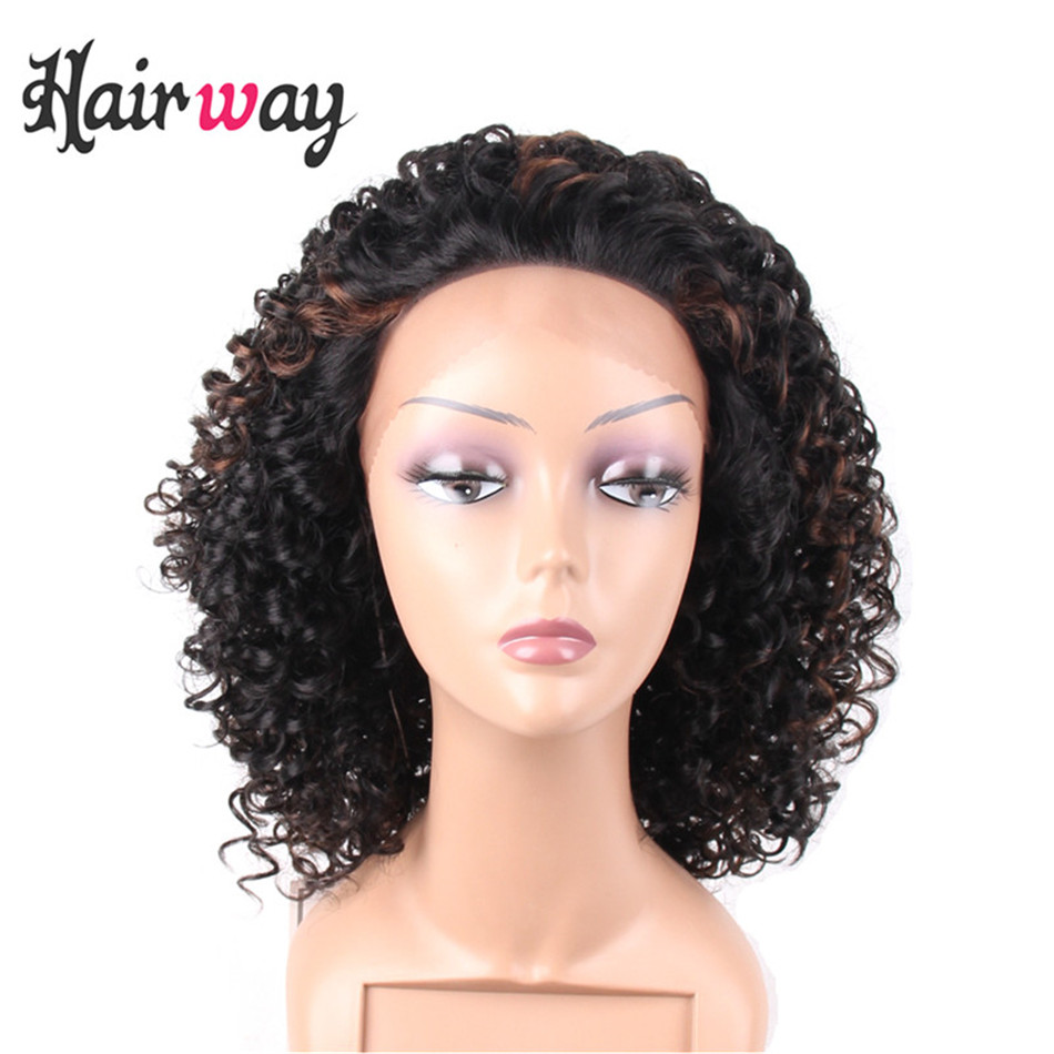 Hair Way Lace Front Wigs Synthetic With Baby Hair Hand ...