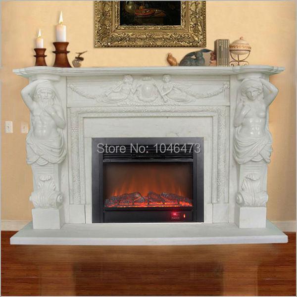 Usa Bl Qr28a 1500w 28 Electric Led Flame Firebox Fireplace