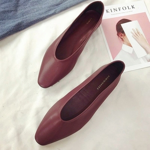 Ladies Shoes Pointed Toe Flats