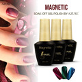 Azure Beauty Magnetic Powder nail gel polish UV/LED 12ml Cat Eyes 30 Color Healthy Gel Lacquer Color Need Magnet Stick
