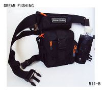Hot Sale Portable Outdoor Waterproof Fishing Bag High Quality Used As Waist Satchel Fishing Bags New