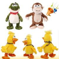 Electric Induction Plush Dancing Shout Kids Children Stuffed Animals Cute Gifts