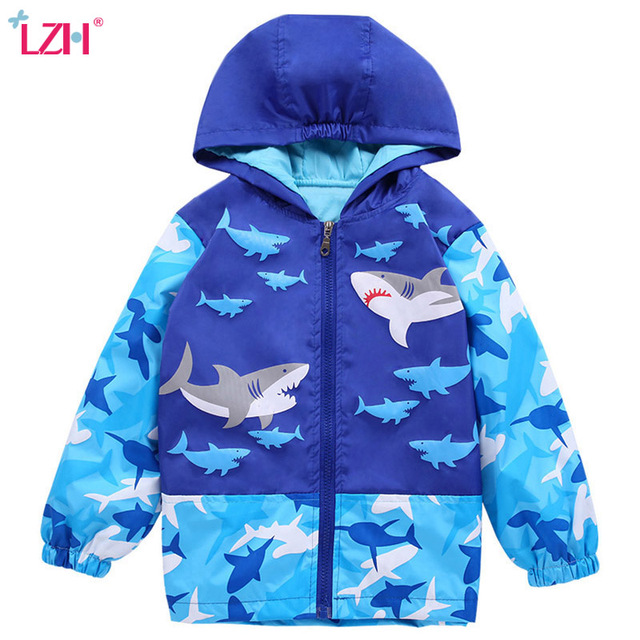 fac5bcadc79f LZH 2018 Spring Autumn Jackets For Girls Windbreaker For Boys ...